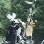 Samsung Galaxy S – Le promo assurée par Dark Vador au Japon