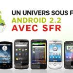 SFR publie le planning des mises à jour de ses smartphones