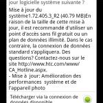 HTC Desire HD – Mise à jour Android 2.2.1 disponible (1.72.405.3)