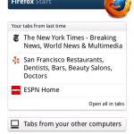 Firefox Beta 4 disponible sur Android Market
