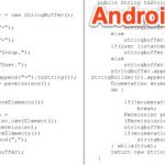 Android contient 43 fichiers de code source directement copiés de java