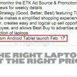 Motorola Xoom – Possibles prix et date de sortie