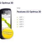 Un Android Phone 3D par LG au Mobile World Congress de  Barcelone