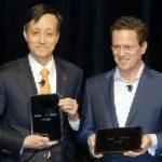 LG G-Slate – Ecran et enregistrement vidéo en 3D