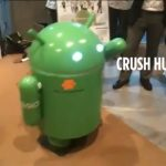 Japan is superior – Bugdroid tournant sous Android