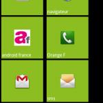 Metro UI – L'interface utilisateur de Windows Phone sur Android