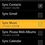 Synchronisez votre musique avec la prochaine version d'Android