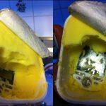 Un HTC Tattoo retrouvé dans de la margarine