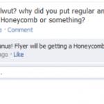 HTC Flyer – Mise à jour vers Android 3.0 Honeycomb confirmée