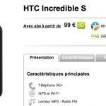 HTC Incredible S – Dispo chez MeilleurMobile