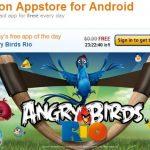 Amazon Appstore – Le market et Angry Birds Rio dispos aux USA