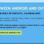 Android-Sync – Une solution simple pour la synchronisation Outlook