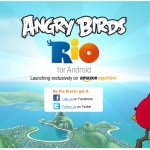 Angry Birds Rio – Lancement exclusif sur l'Appstore d'Amazon