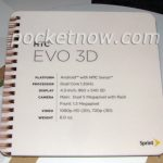 HTC Evo 3D – Les spécifications techniques