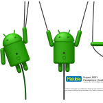 Bugdroid – Un adaptateur d'écouteurs iPhone et un casque thématisés Android