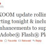 Motorola Xoom – Mise à jour Android 3.01 avec Flash 10.2 en approche