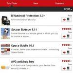 Opera Mobile lance son market