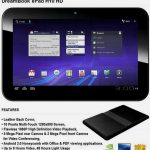 Pioneer DreamBook ePad H10 HD – Une tablette 10 pouces sous Honeycomb