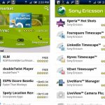 Android Market – Sony Ericsson remplace l'onglet Mes applications