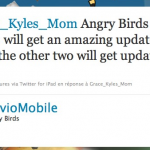 Angry Birds – Une version pour pâques et des niveaux pour mai
