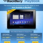 Un Blackberry Playbook sous Honeycomb ?