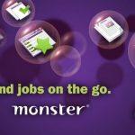 Monster – L'application de recherche d'emploi sous Android