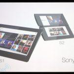 Sony S1 et S2 les tablettes tactiles de Sony en photos