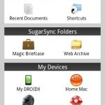 SugarSync – Application officielle disponible