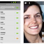 Tchat vidéo avec Gtalk dans le dernière version d'Android 2.3.4