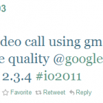 Gtalk – La vidéo en approche sur Android ?