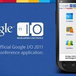 Google I/O – L'application disponible