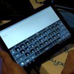 L'application Swype pour les tablettes tactiles sous Honeycomb en vidéo