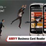 ABBYY Business Card Reader – Gérer vos cartes de visite avec votre Android phone