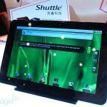 Shuttle présente 3 tablettes sous Android