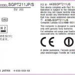Sony S2 – La tablette double écran aura une batterie amovible [FCC]