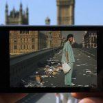 Augmented Reality Cinema – Revivre des scènes mythiques depuis leur lieu de tournage