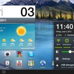 Samsung TouchWiz UX/4 tablet interface en vidéo