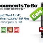 Documents To Go – L'application  soldée à 50 %