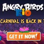 Angry Birds Rio – Seconde mise à jour dispo avec 15 niveaux de plus
