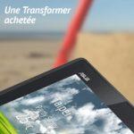 Asus Eee Pad Transformer – Tablette Store offre un étui cuir pour l'achat d'une tablette