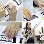 Transformers Girl Band – Elles jouent avec des terminaux Android