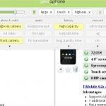 Geekaphone – le service web pour choisir son téléphone suivant ses critères