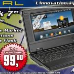 Un Smartbook 7 pouces avec Android Market à 99 euros chez Pearl