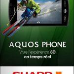 Sharp Aquos Phone – Orange se lance dans la vidéo 3D sur mobile