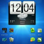 HTC Flyer – Android 3.2 en capture d'écran