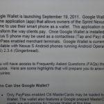 Google Wallet –  Lancement officiel aujourd'hui à Sophia Antipolis