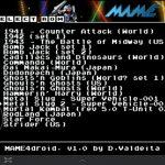 MAME4droid – L'émulateur d'arcade disponible sur Android Market