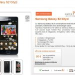 Disponible chez Orange – Galaxy S2 + NFC = Galaxy S2 Cityzi