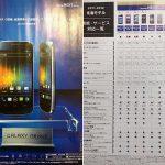 Galaxy Nexus – Des fuites sur le Galaxy Prime