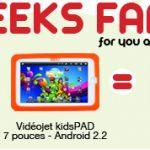 Geeks Family – Un pack original chez Tablette Store